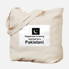 Happily Married To A Pakistani Tote Bag