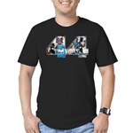 44: Obama Inauguration Newspa Men's Fitted T-Shirt