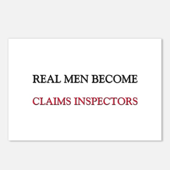 Real Men Become Claims Inspectors Postcards (Packa