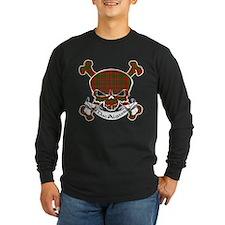 MacAlister Tartan Skull T