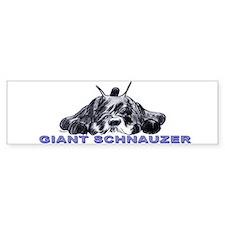 schnauzer Bumper Bumper Sticker