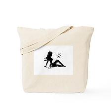 Devil Mudflap Girl Tote Bag