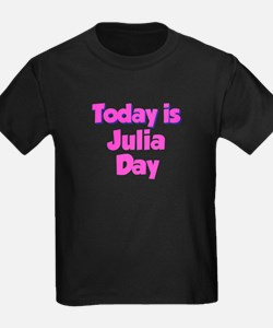 Today Is Julia Day T
