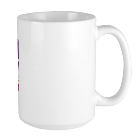 Bedlington Terrier Agility Large Mug