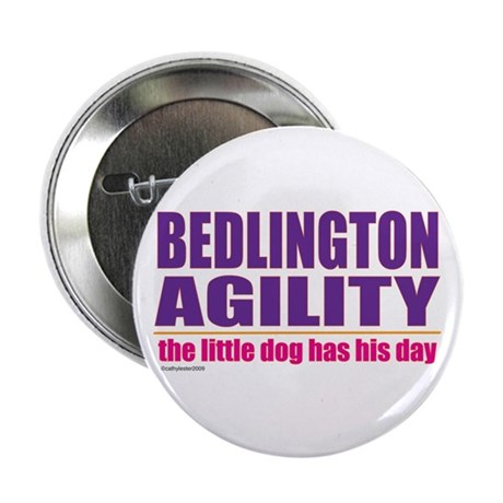 "Bedlington Terrier Agility 2.25"" Button (10 pack)"