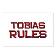 tobias rules Postcards (Package of 8)