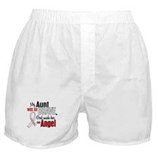 Angel 1 AUNT Lung Cancer Boxer Shorts