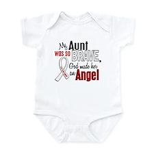 Angel 1 AUNT Lung Cancer Infant Bodysuit