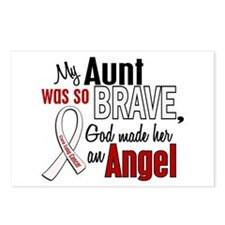 Angel 1 AUNT Lung Cancer Postcards (Package of 8)