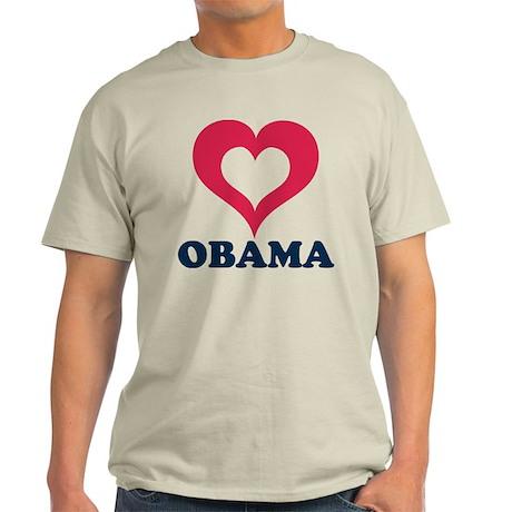 heart obama Light T-Shirt