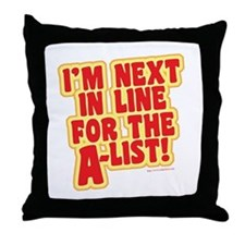 The A-list Throw Pillow