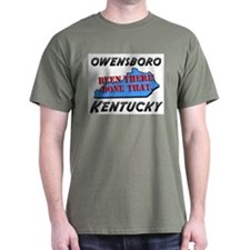 owensboro kentucky - been there, done that T-Shirt