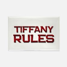 tiffany rules Rectangle Magnet (10 pack)