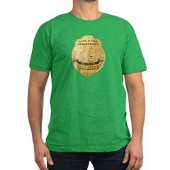 Minnesota Game Warden Men's Fitted T-Shirt (dark)