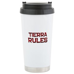 tierra rules Travel Mug