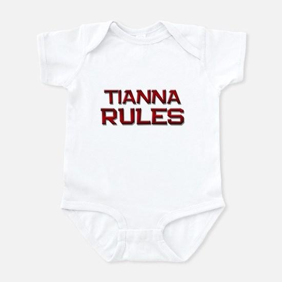 tianna rules Infant Bodysuit