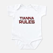 tianna rules Onesie