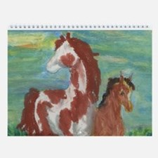 Horse And Colt Gift Wall Calendar
