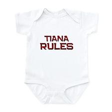 tiana rules Infant Bodysuit