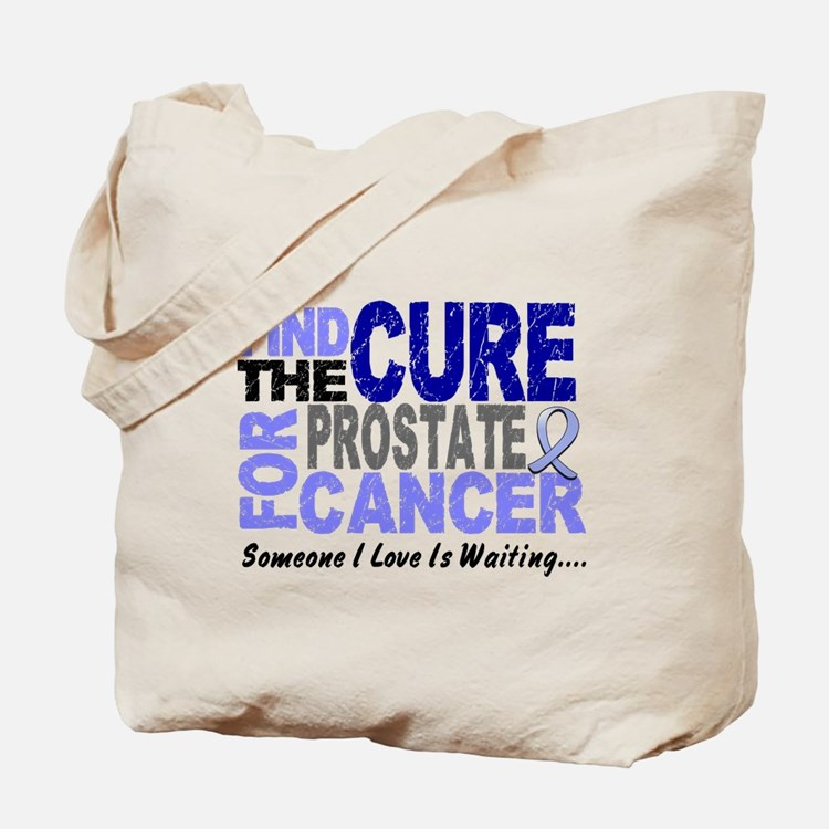 Find The Cure Prostate Cancer Tote Bag