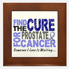 Find The Cure Prostate Cancer Framed Tile