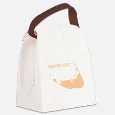 Nantucket Island Sand Canvas Lunch Bag