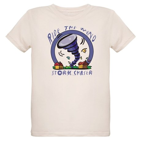 Ride the wind Organic Kids T-Shirt