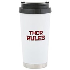 thor rules Travel Mug