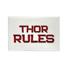 thor rules Rectangle Magnet