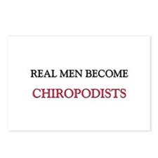 Real Men Become Chiropodists Postcards (Package of