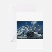 Funny Mount everest Greeting Card