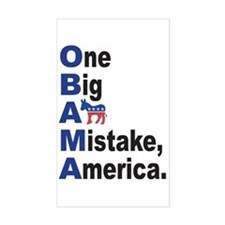 Obama Rectangle Decal