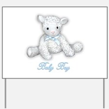 Baby Boy Lamb Yard Sign