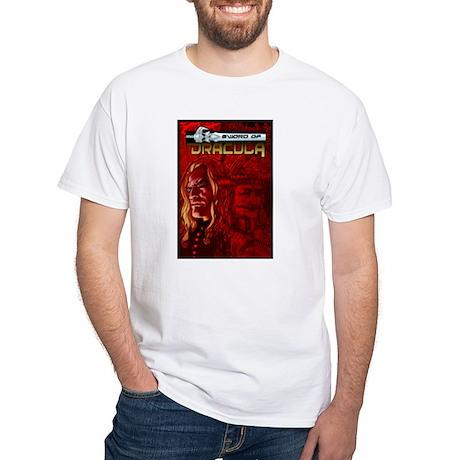 Sword of Dracula White T-Shirt