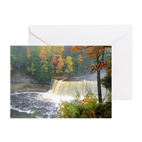 Tahquamenon Falls Greeting Cards (Pk of 20)