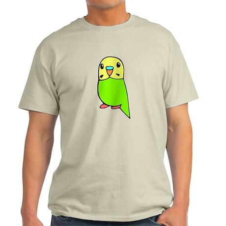 Cute Green Budgie Light T-Shirt