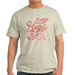 Hope Pink Ribbon Light T-Shirt