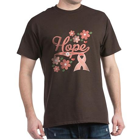 Hope Pink Ribbon Dark T-Shirt