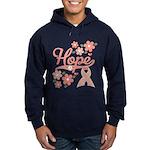 Hope Pink Ribbon Hoodie (dark)