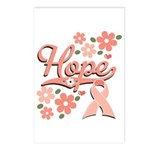 Hope Pink Ribbon Postcards (Package of 8)
