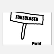 Unique Foreclosures Postcards (Package of 8)