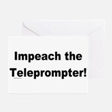 Impeach The Teleprompter Greeting Cards (Pk of 10)