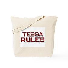 tessa rules Tote Bag