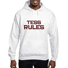 tess rules Hoodie
