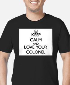 Keep Calm and Love your Colonel T-Shirt