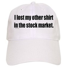 Lost Other Shirt in Stock Market Baseball Cap