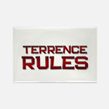 terrence rules Rectangle Magnet