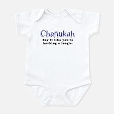 Chanukah, Say It Like You're Infant Bodysuit