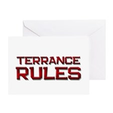 terrance rules Greeting Card