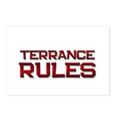 terrance rules Postcards (Package of 8)